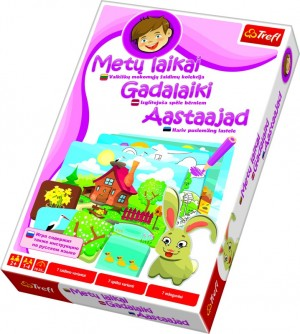 """Trefl bērnu spēle """"Gadalaiki"""", visas valodās"""