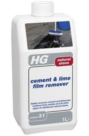 HG dabīgā akmens cementa un rūsas tīrītājs 1L