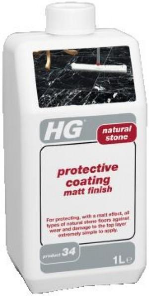 HG dabīgā akmens aizsargslānis matēts 1L