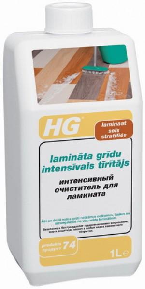 HG Lamināta grīdu intensīvais tīrītājs 1L