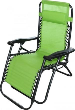 Sauļošanās Krēsls - atpūtas krēsls 177x61x110cm