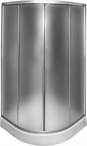 Duškabīne ar stikla durvīm, 900x900x1950mm, 4mm