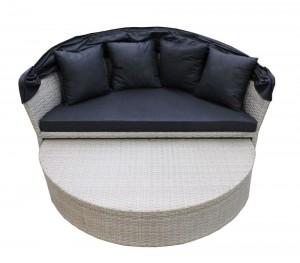 Dārza dīvāns, 155x145 cm