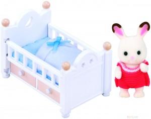 Sylvanian Families Trušu mazulis gultiņā