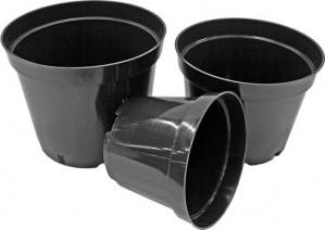 Puķu pods melns MCI 21 4L