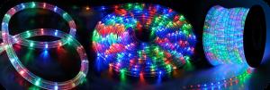 Gaismas caurule LED 10m daudzkrāsaina