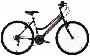 """Frejus MTB kalnu velosipēds 24"""" (melns)"""