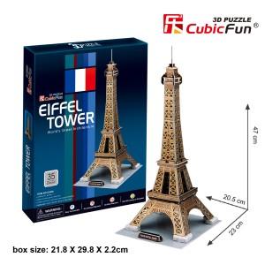 CubicFun 3D puzle Eifeļa tornis