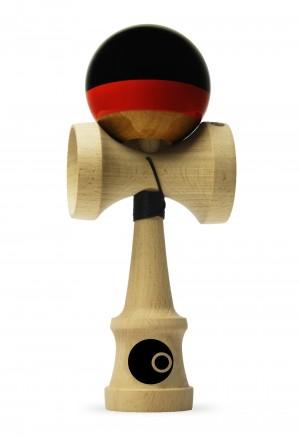 OKendama Candy - Midnight Cherry - ZERO1 shape, Beech wood / SHTICK paint