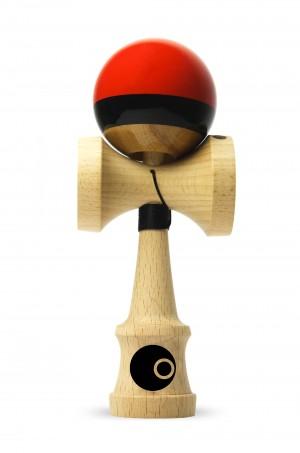 OKendama Candy - Red Apple - ZERO1 shape, Beech wood / SHTICK paint