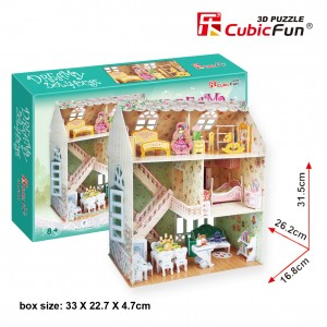 CubicFun 3D Leļļu māja Dreamy