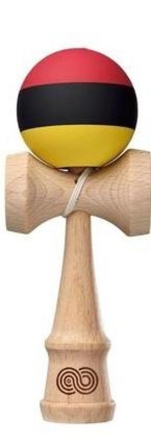 Kendama Kaizen Trip Split Red / Black / Yellow