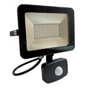 Prožektors LED 30W ar sensoru CW IP65