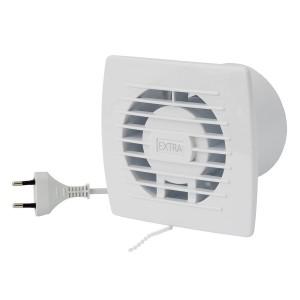 Ventilators EXTRA d100mm ar vadu un slēdzi