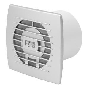 Ventilators EXTRA d100mm sudrab.