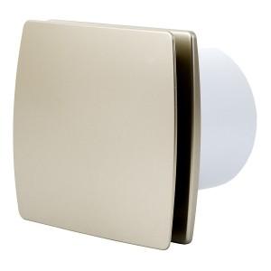 Ventilators EXTRA d100mm ar noslēgv.,zelt.
