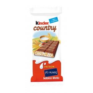 KINDER COUNTRY šokolāde, 24g