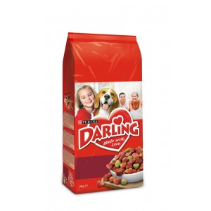 DARLING suņu sausā barība (gaļa, dārzeņi) 3kg
