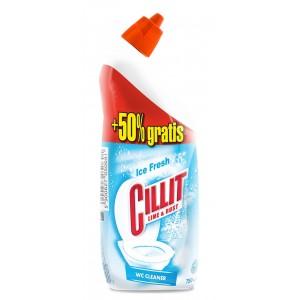 CILLIT wc tīrīšanas līdzeklis Ice Fresh 500+250ml