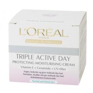 L'OREAL Triple Active dienas krēms normālai ādai 50ml