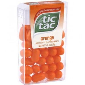 TIC TAC ORANGE apelsīnu dražejas 18g