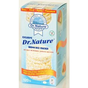DR. NATURE Galetes rīsu bez sāls, 120g