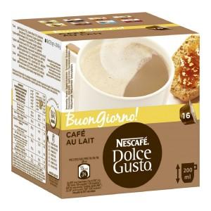 NESCAFE Dolce Gusto kafija Cafe AuLait, 160g