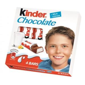 KINDER CHOCOLATE piena šokolāde bērniem, 50g
