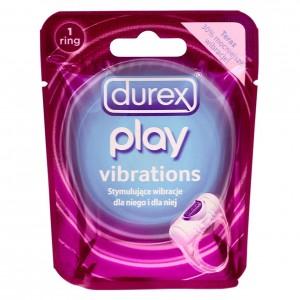 DUREX Play Vibrations Vibrējošs dzimumlocekļa gredzens