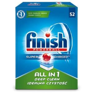 FINISH ALL in 1 tabletes trauku mazgāšanas automātiem 52gab