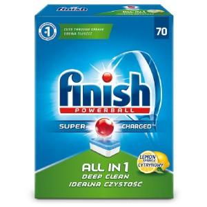 FINISH ALL in 1 Lemon tabletes trauku mazgāšanas automātiem 70gab