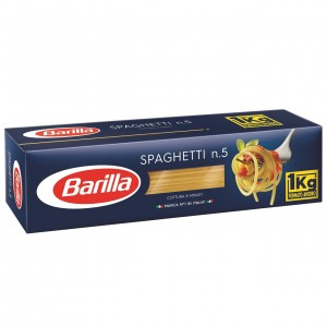 BARILLA SPAGHETTI pasta 1kg