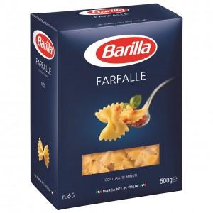 BARILLA FARFALLE pasta 500g