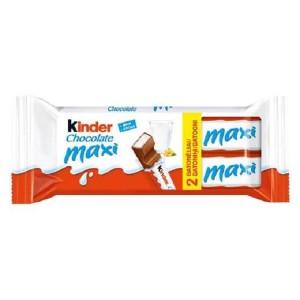KINDER CHOCOLATE MAXI piena šokolāde bērniem, 42g