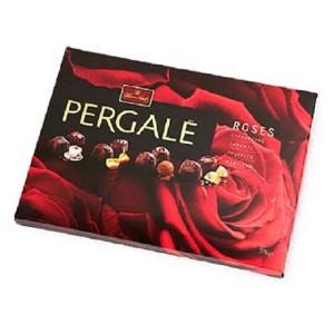 PERGALE konfekšu kārba Roses 382g