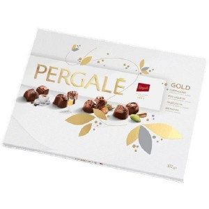 PERGALE konfekšu kārba GOLD 382g