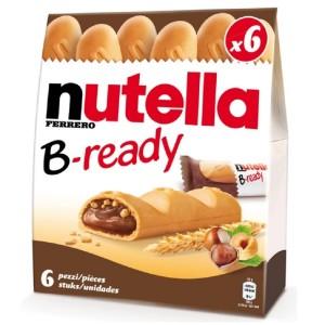 NUTELLA B-ready batoniņš 6 gab., 132g
