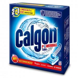 CALGON ūdens mīkstinātājs, tabletes 15gab