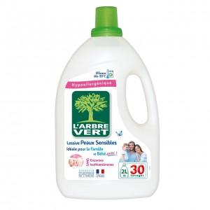 LARBRE VERT veļas mazgāšanas līdzeklis Sensitive, 2l