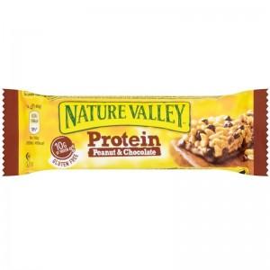 NATURE VALLEY Proteīna batoniņš ar riekstiem un šokolādi, 40g