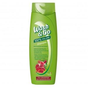 WASH&GO šampūns Pomegranate, 200ml