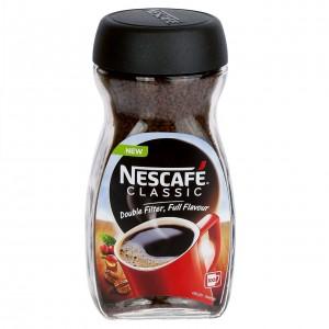NESCAFE Classic šķīstošā kafija (stikls), 200g
