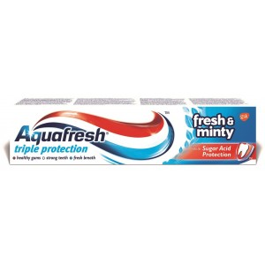 AQUAFRESH zobu pasta Fresh'N'Minty, 100ml