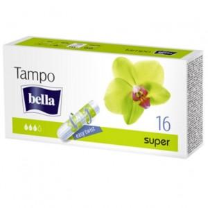 BELLA PREMIUM higiēniskie tamponi SUPER 16gab