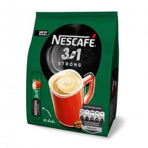 NESCAFE Strong 3in1 šķīstošā kafija (10x17g), 170g