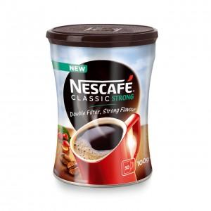 NESCAFE CLASSIC Strong šķīstošā kafija metāla kārbā, 100g