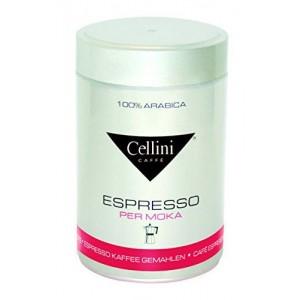 CELLINI Premium Moka maltā kafijas bundžā, 250g