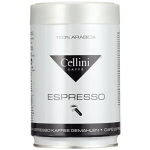 CELLINI Premium Espresso maltā kafija bundžā, 250g