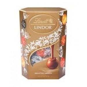 LINDT Lindor Asorti šokolādes konfektes, 200g