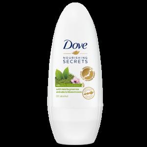 DOVE Matcha & Sakura Blossom/awakening  Roll-on dezodorants sievietēm 50ml